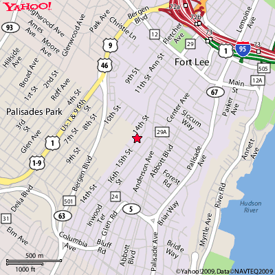 Fort Lee New Jersey Map.New Wave Myotherapy Academy Professional Training New Jersey