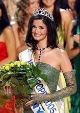 Мисс Европа-2005 - иранская красавица Шермин Шахривар